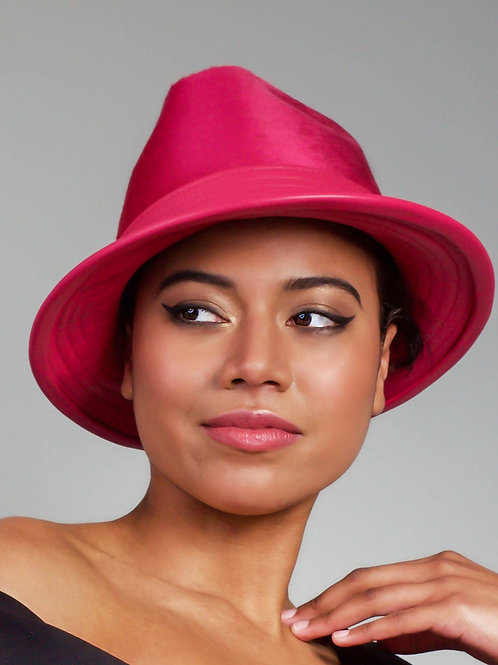 Fedora in pink