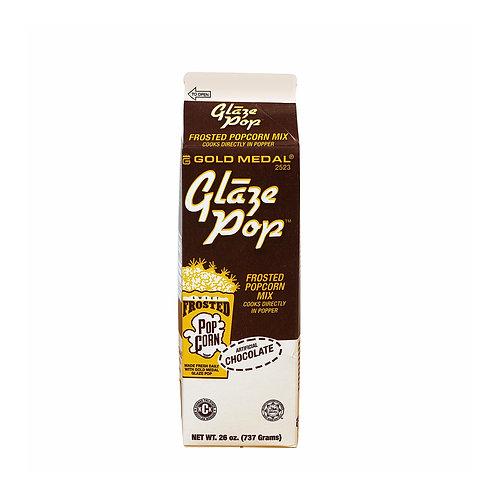 Chocolate Glaze Pop Frosted Popcorn Mix 26 oz (per pc)
