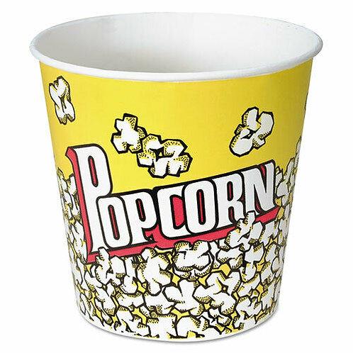 64 oz Yellow Popcorn Paper Cup x 150 pcs