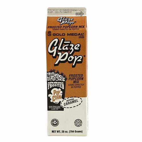 GM Caramel Glaze Pop Frosted Popcorn Mix 28 oz (per pc)