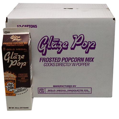 GM Chocolate Glaze Pop Frosted Popcorn Mix 26 oz x (case 12 pcs)