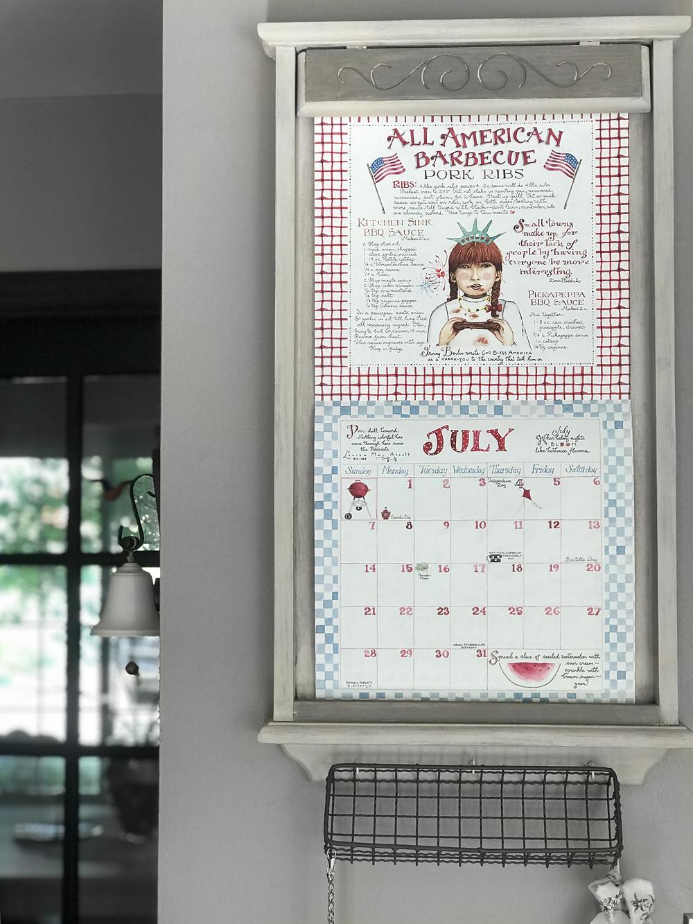 july calendar