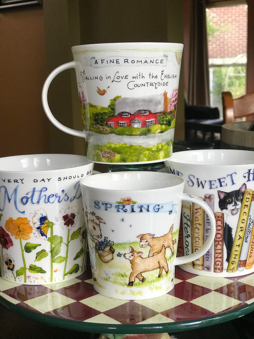 Susan Branch mugs