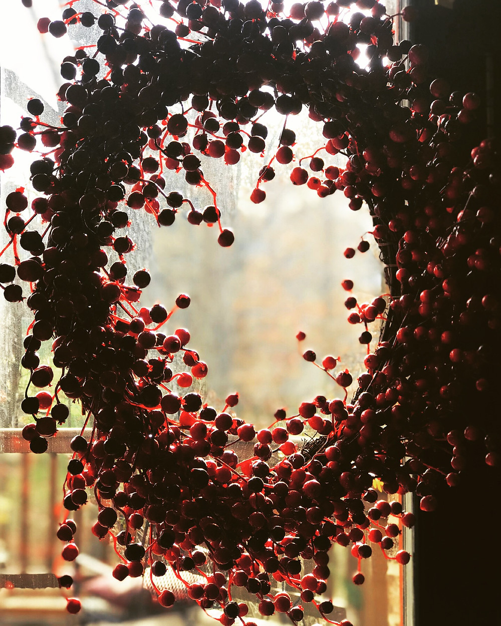 red berrie wreath