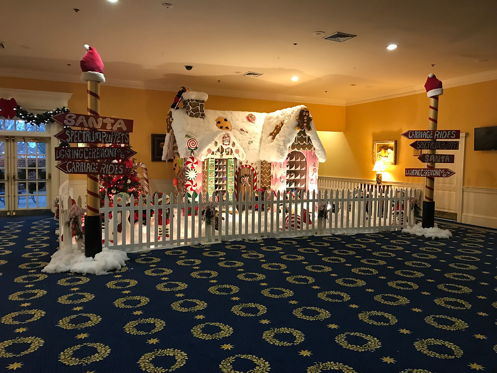 lifesize gingerbread house