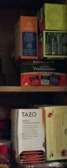 collection of more tea