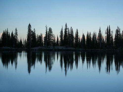 Dusk at Blue Lake