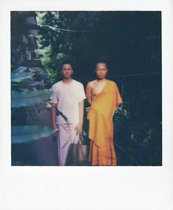 Monk.Sunset