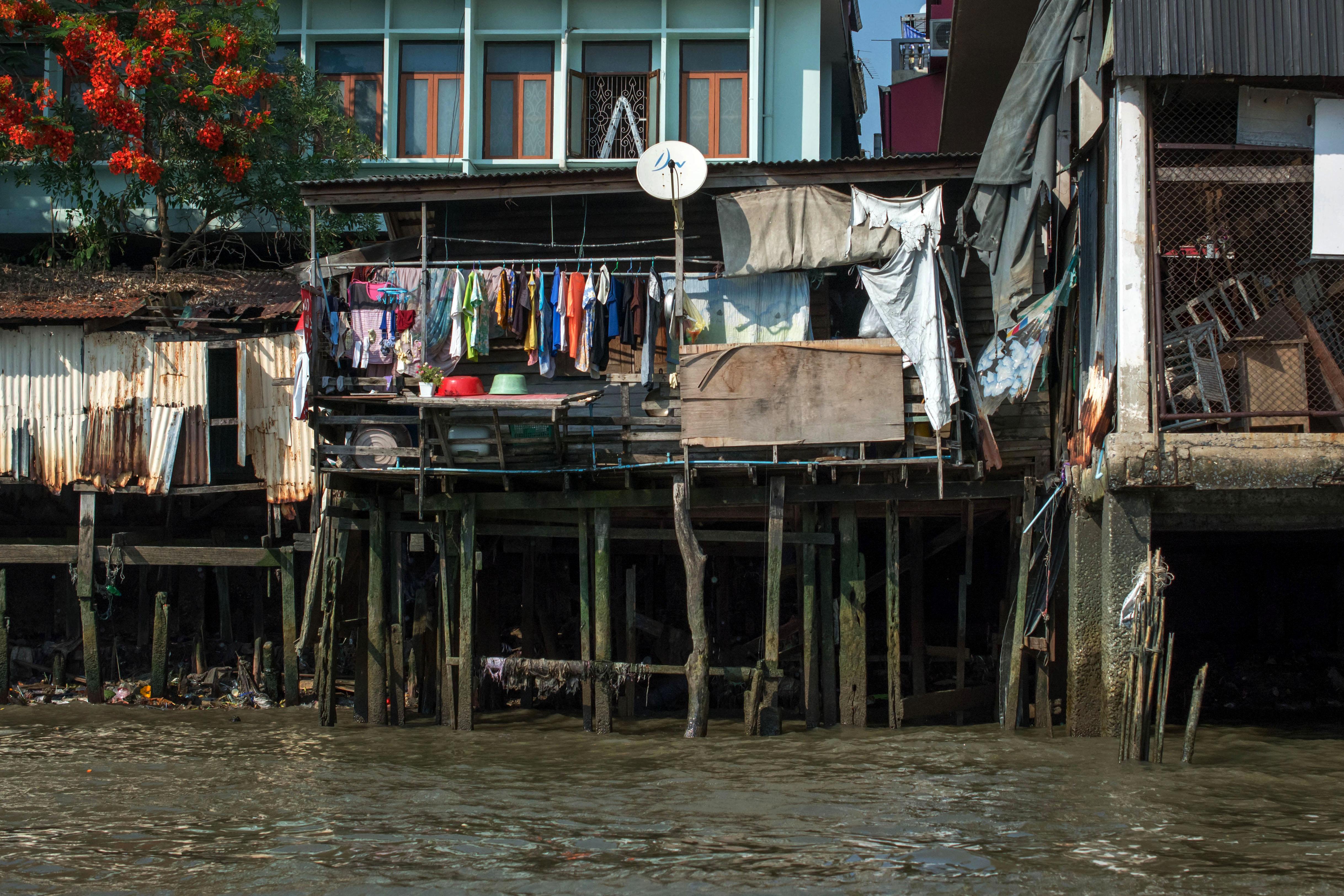 Bangkok.Poverty