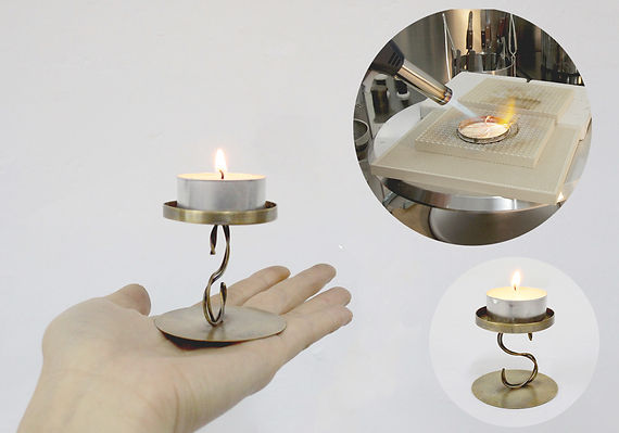 _ODY Vintage candle stand workshop