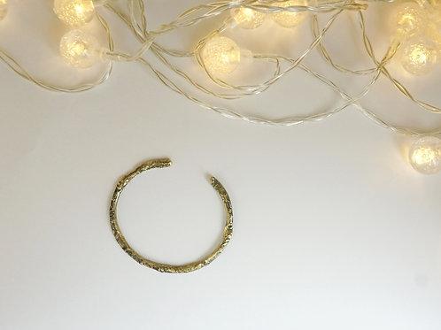 Brass Liquified Bangle