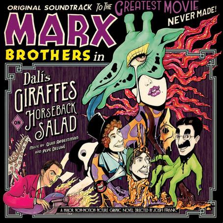 GIRAFFES ON HORSEBACK SALAD original soundtrack album is OUT NOW!!