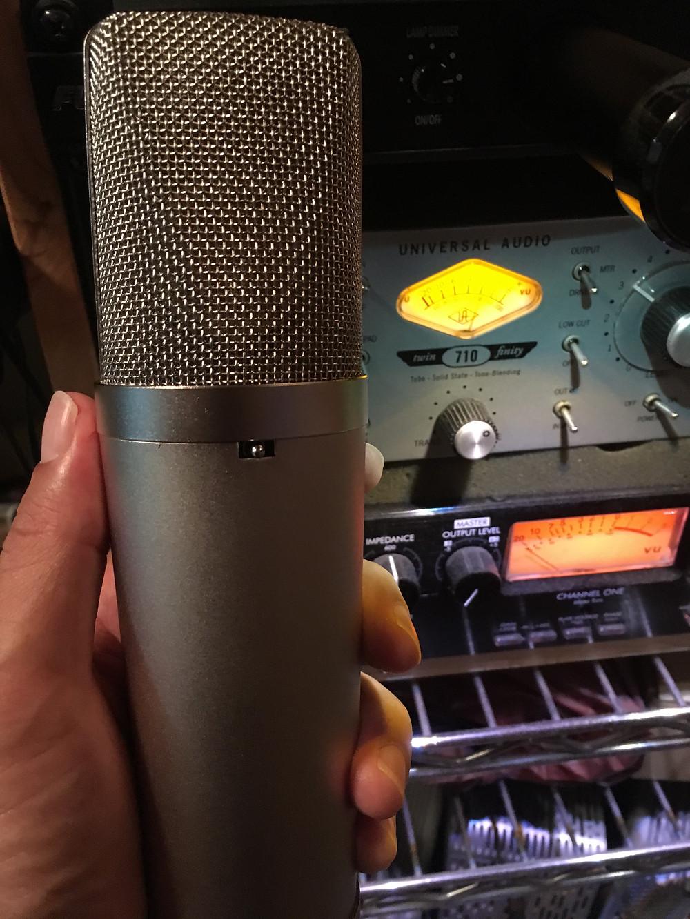 CE87 (U87 clone microphone by Clear Echo) hand made