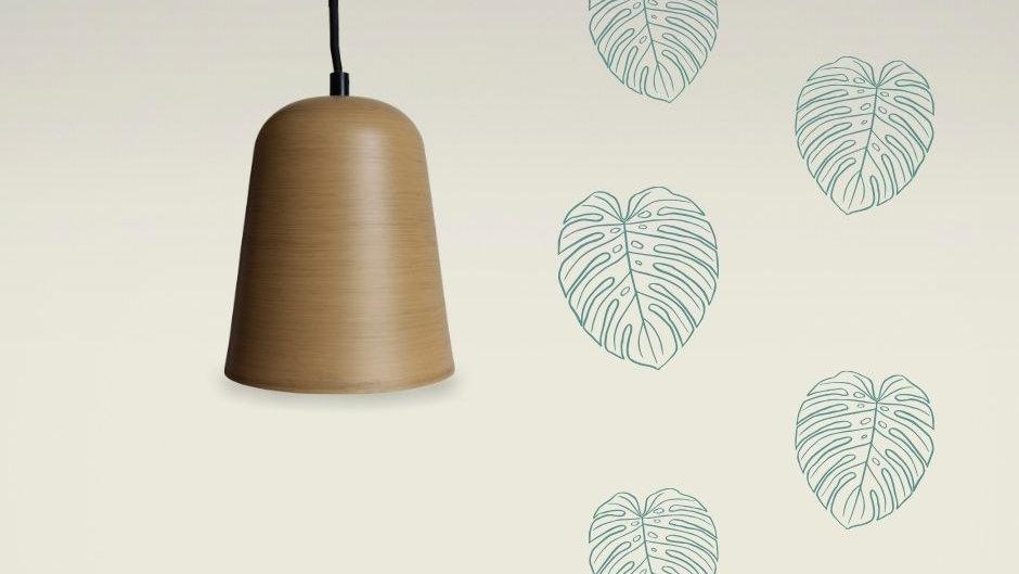 Světlo závěsné dekor dřevo