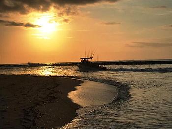 Sunset Xai Xai Beach