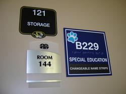 ADA compliant tactile signage