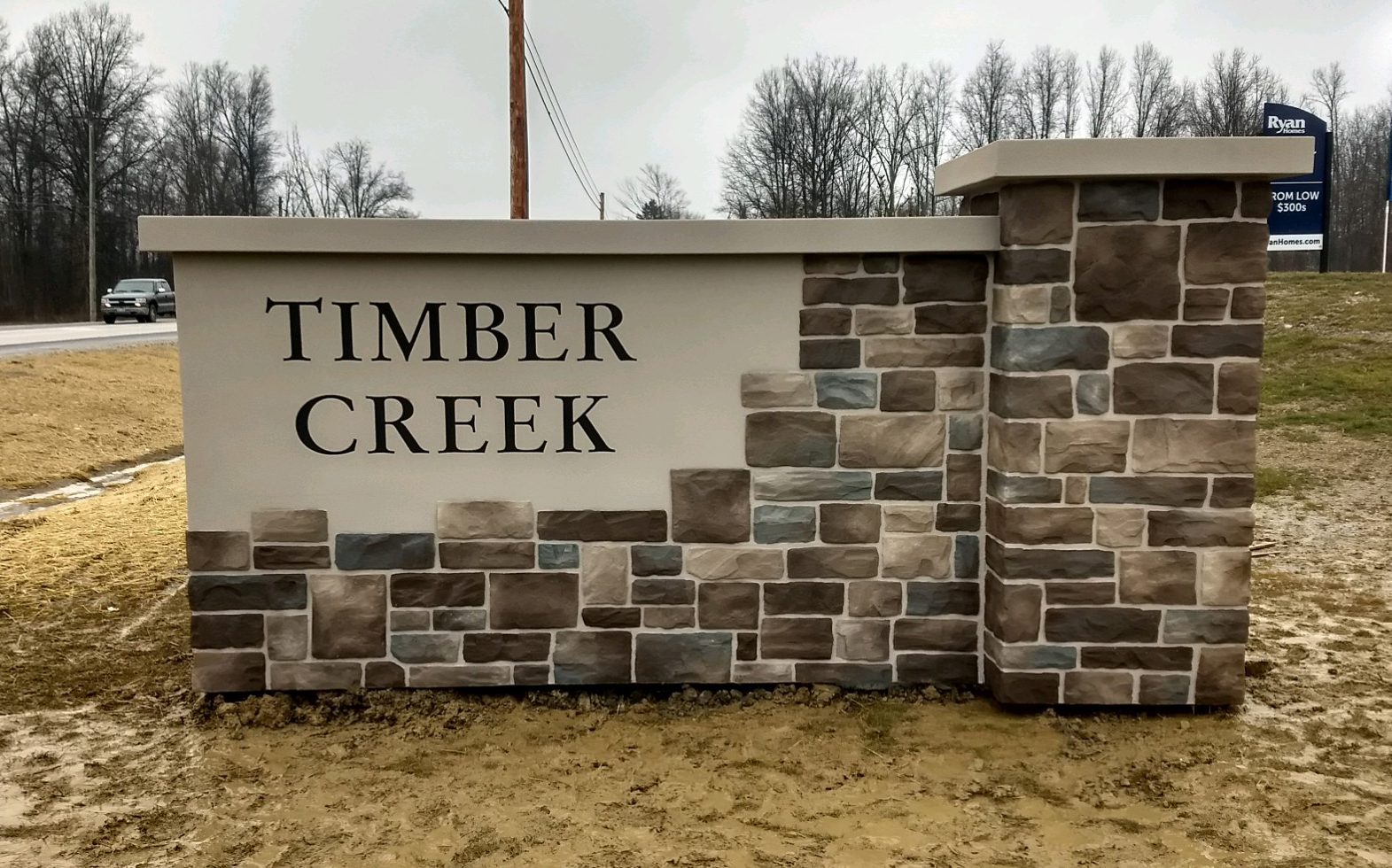 Timber Creek EPS sign