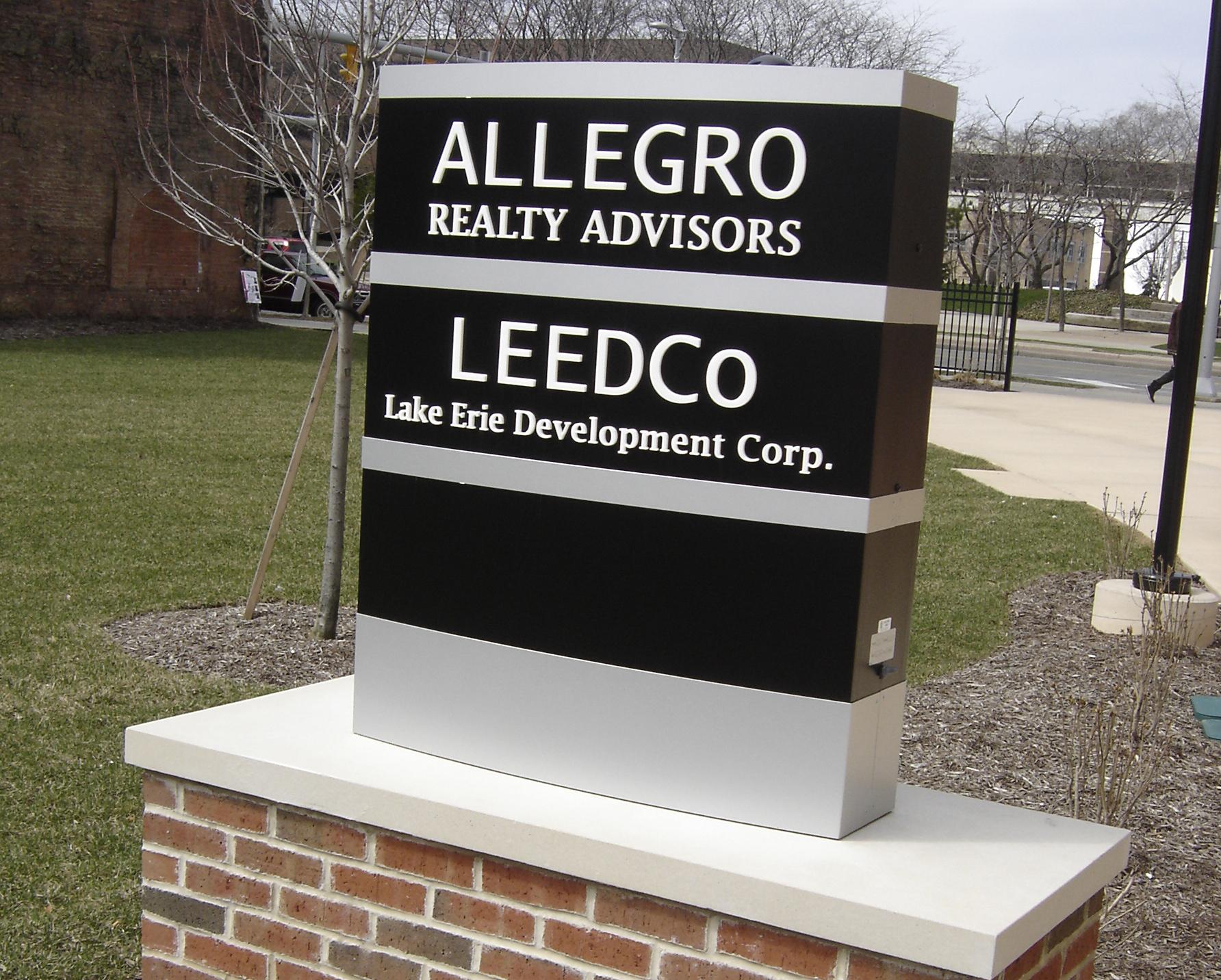 Allegro ground sign