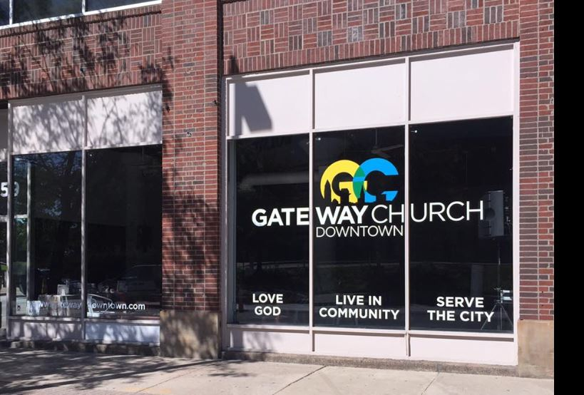 Gateway Church windows