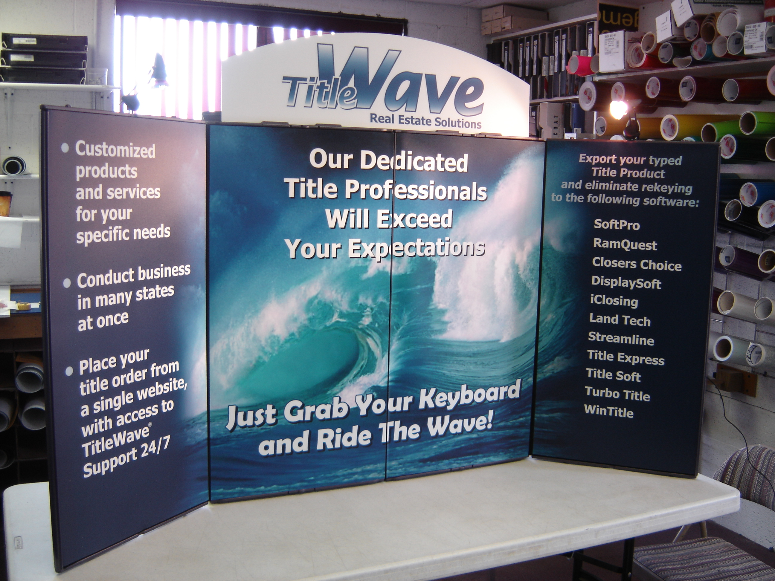 Title Wave Showmax display