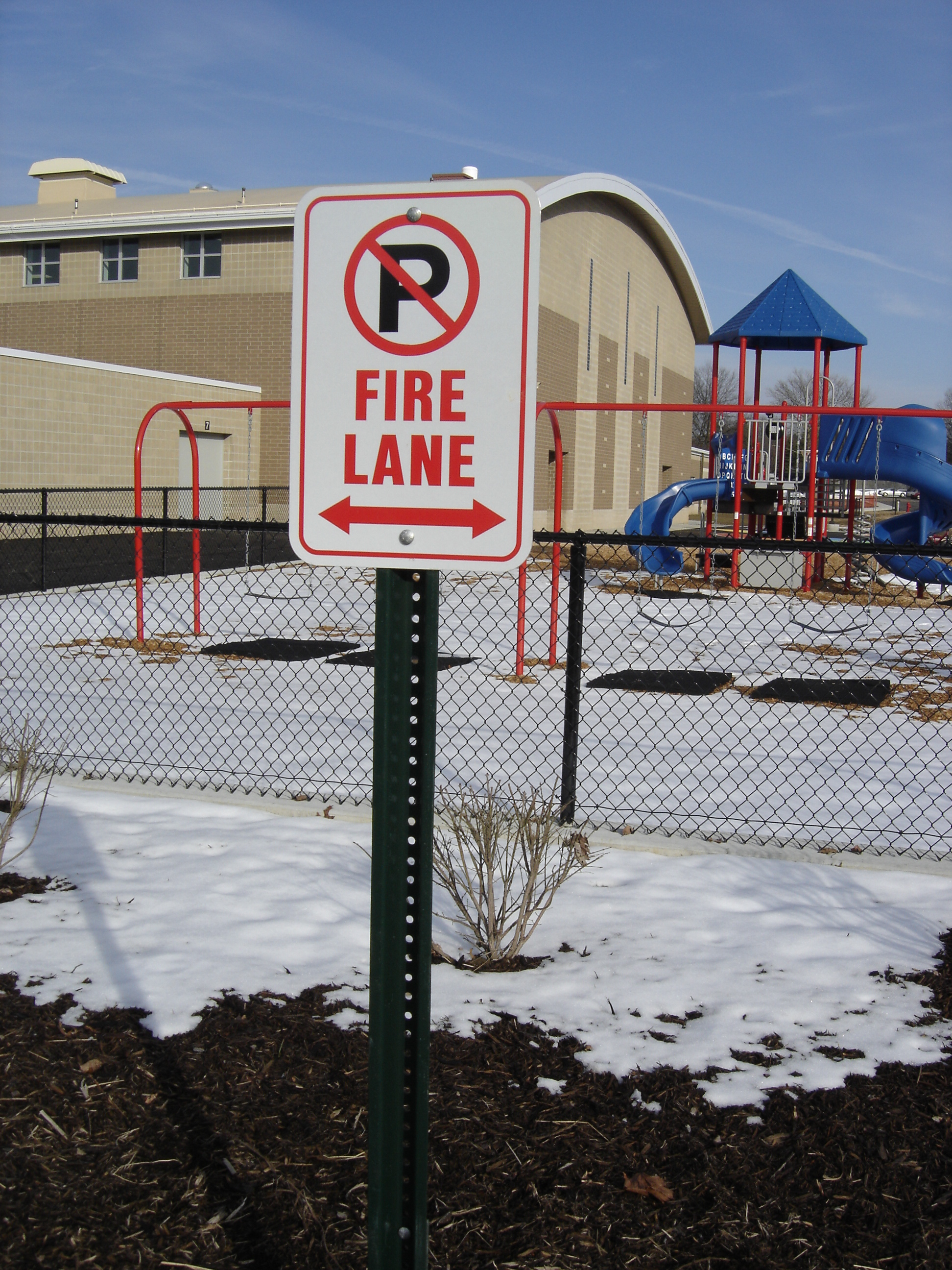 Louisville fire lane