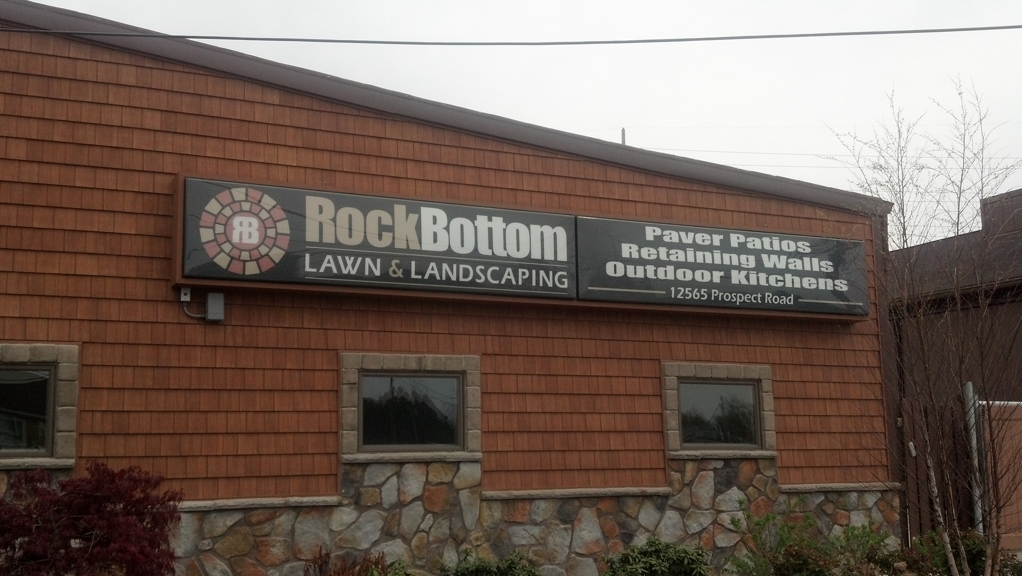 Rock Bottom Landscape