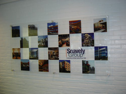 Snavely wall display