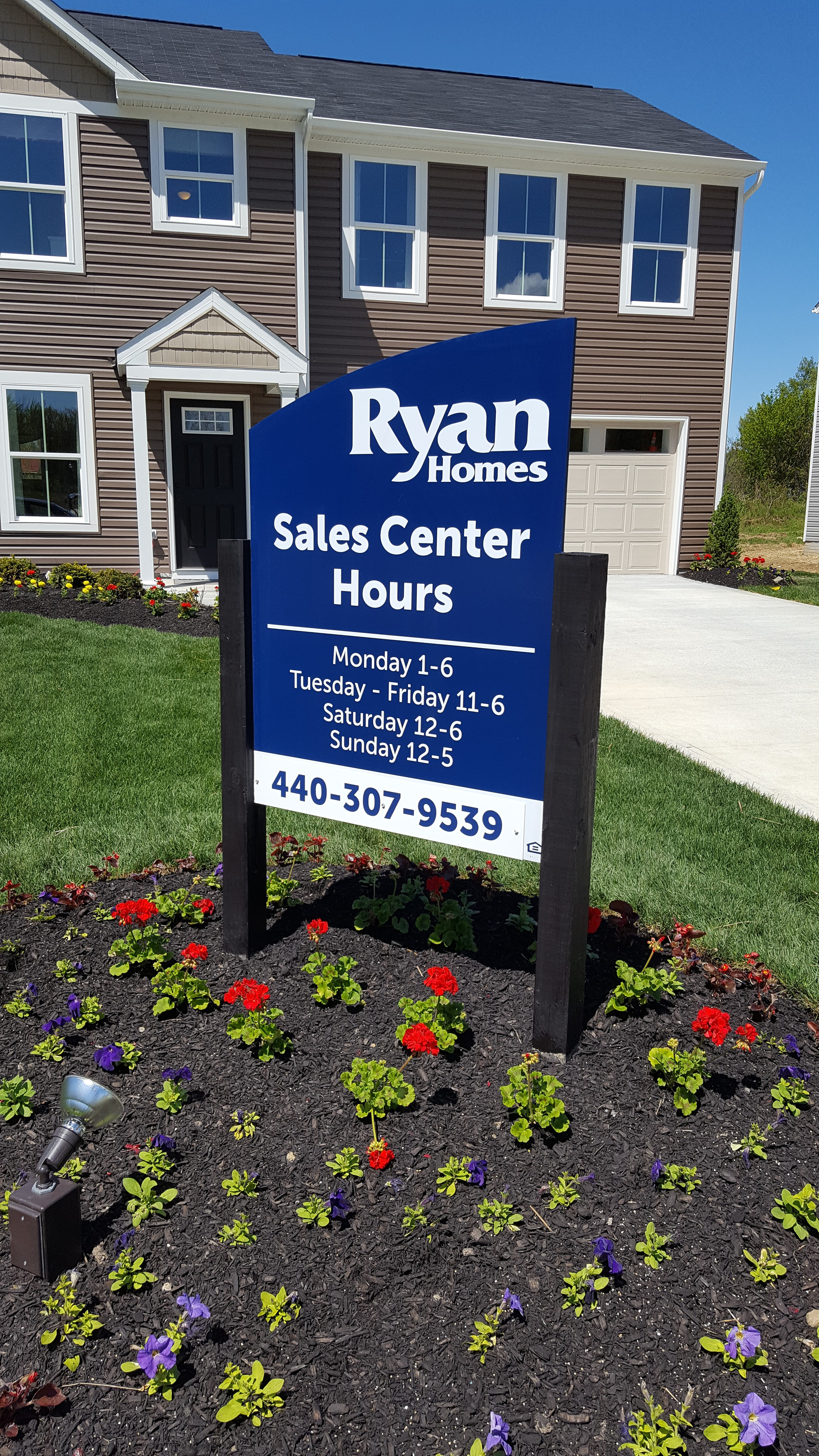 Ryan model hours sign