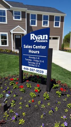 Ryan model hours sign