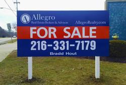 Allegro sign