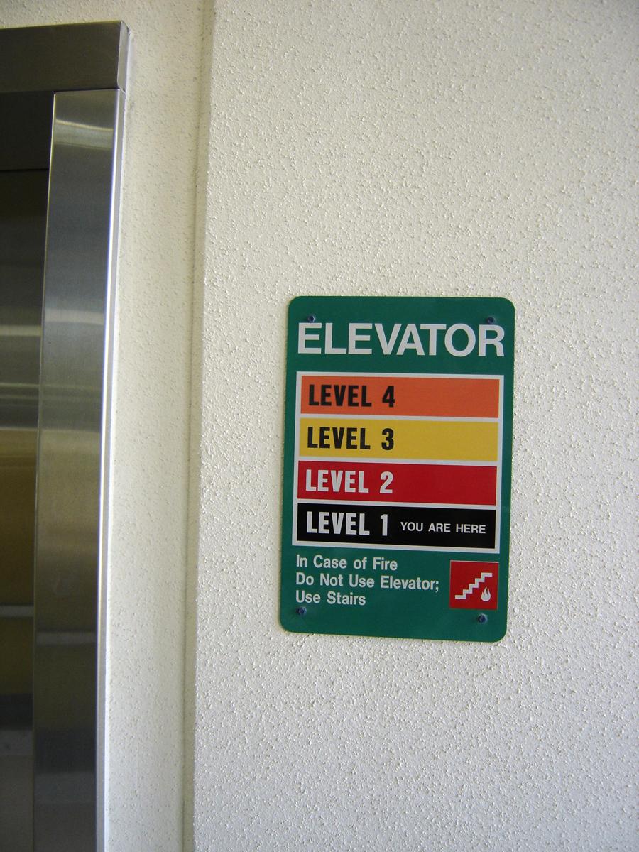 CSU South garage elevatorLOREZ