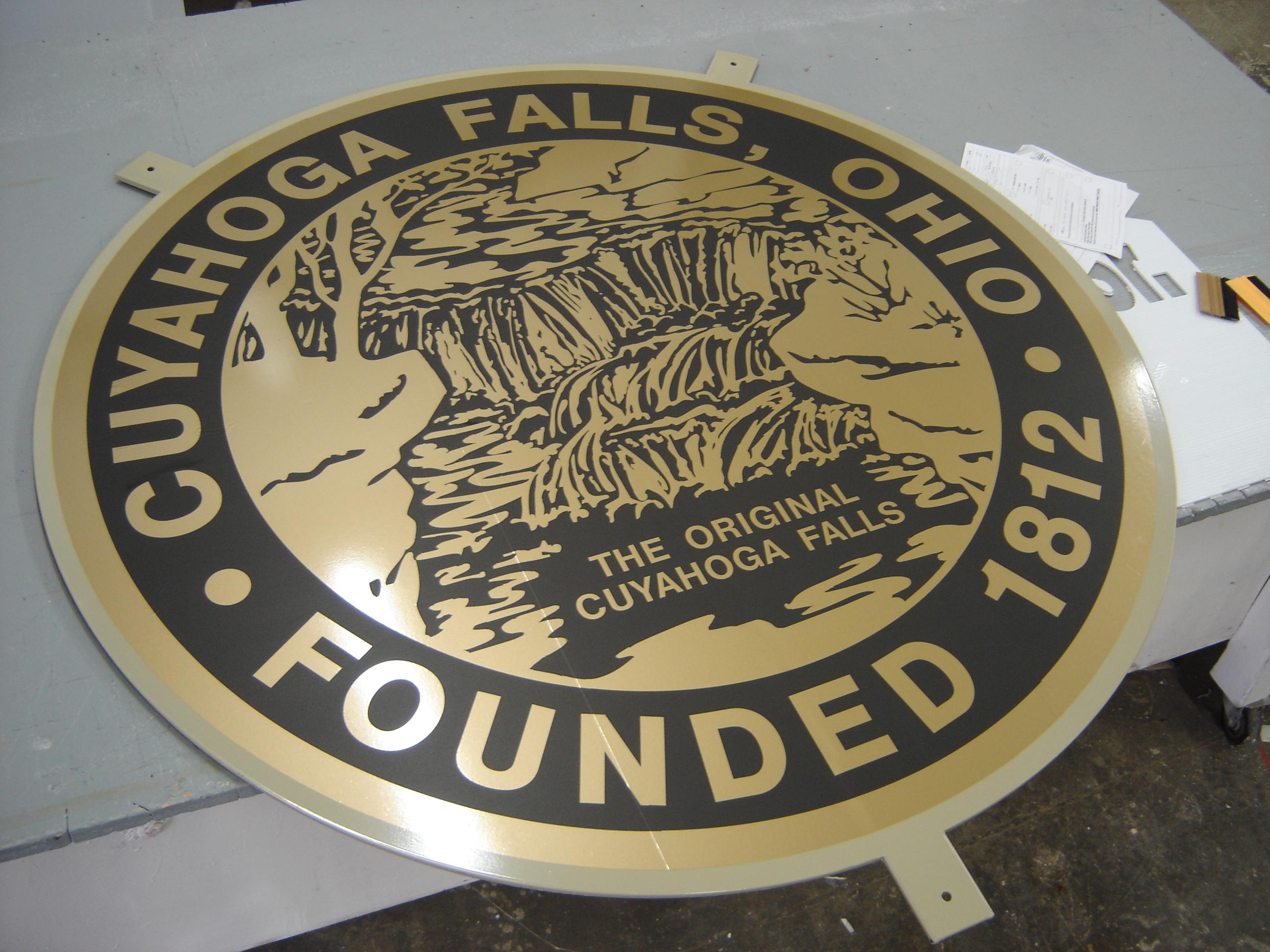 Cuyahoga Falls emblem