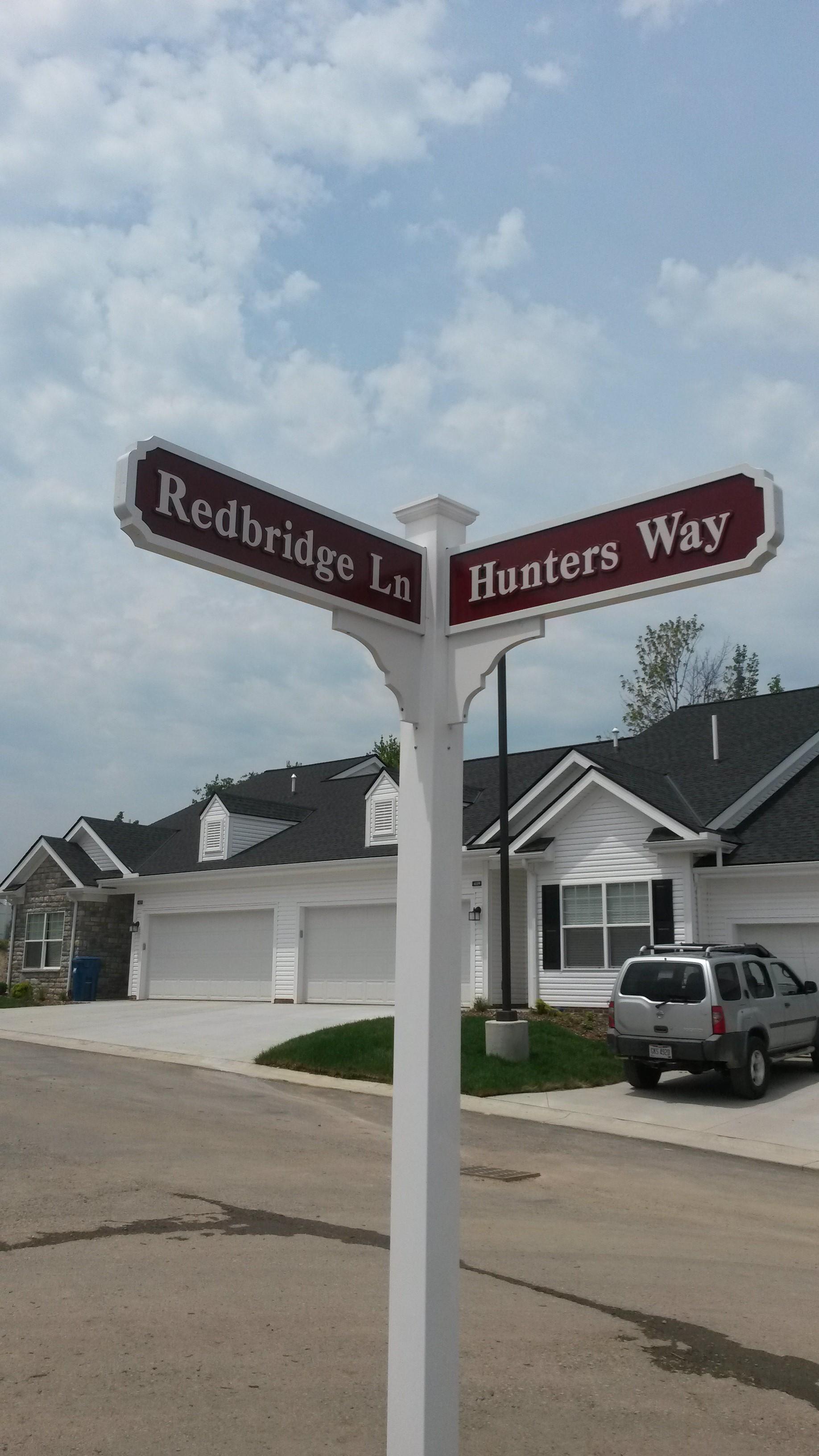 Fox Hollow street sign
