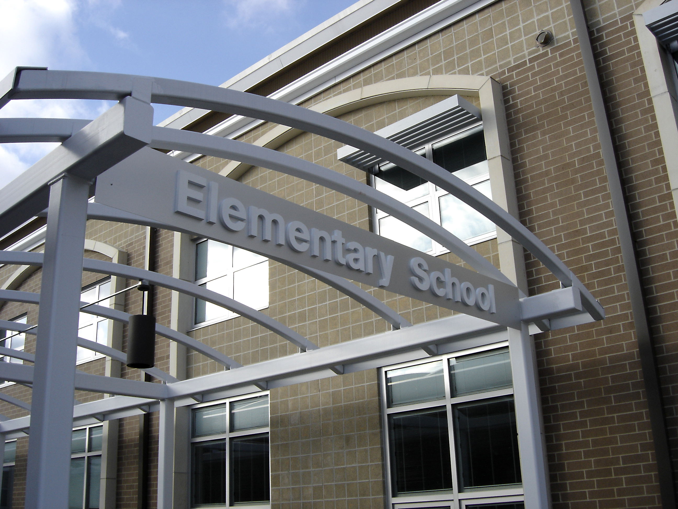 Louisville PK-5 Elementary sign 2