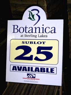 Botanica sublot sign