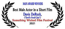 SWFF Main Award Winner DEVIL'S FOOD CAKE Best Male Actor in a Short Film.png