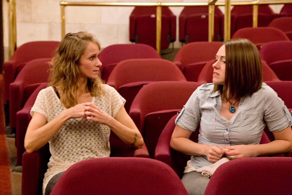 Sarah McGuire, Jennifer Seward