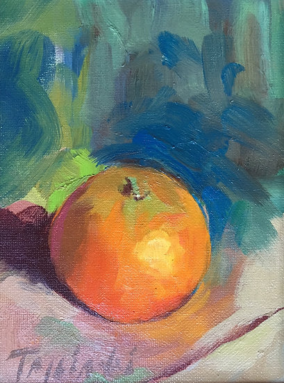 Tangerine No. 1, by Barbara Trzcinski