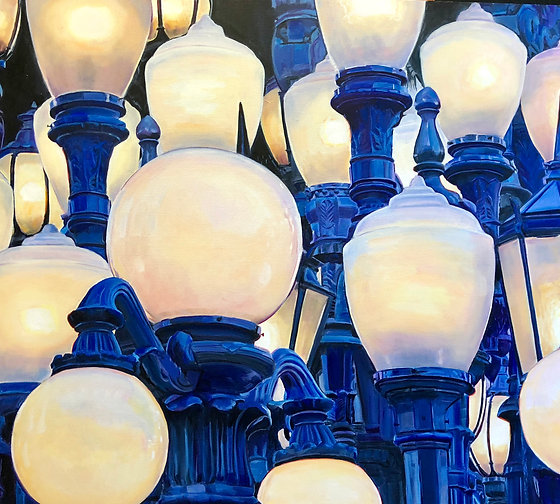 The Street Lights of LACMA, by Nancy Plank