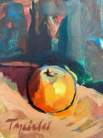 Tangerine No. 3, by Barbara Trzcinski