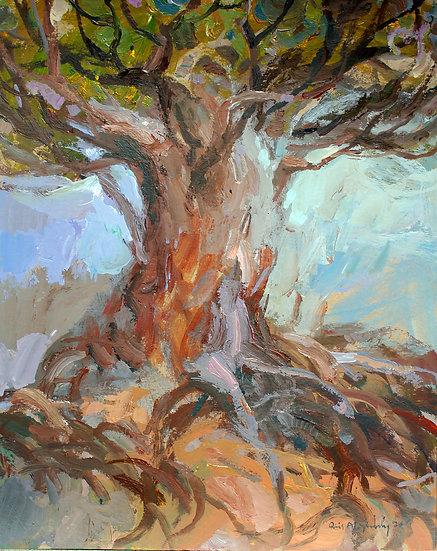 The Tree of Truth, by Qais Al-Sindy