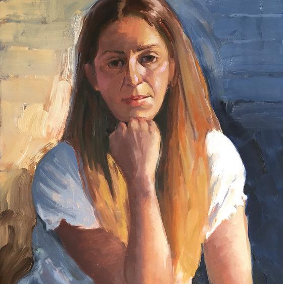 Young Woman (Rachel), by Barbara Trzcinski