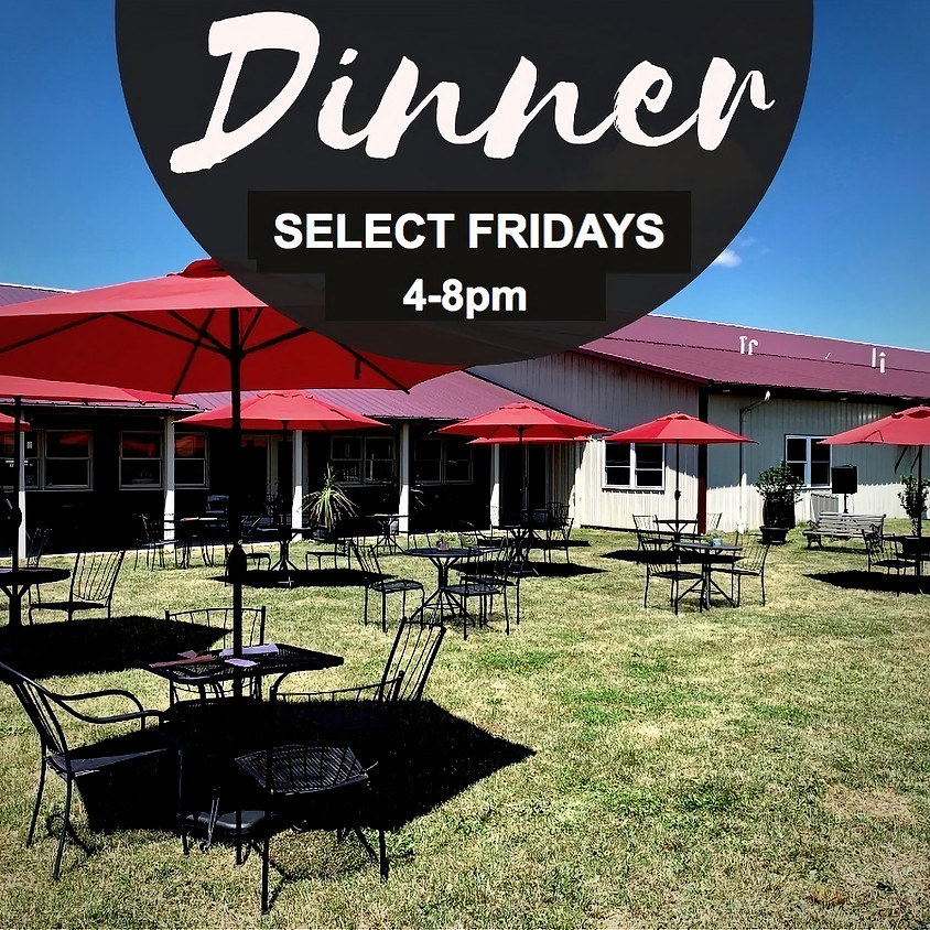 Friday Dinner by Ava's Table at the Vineyard