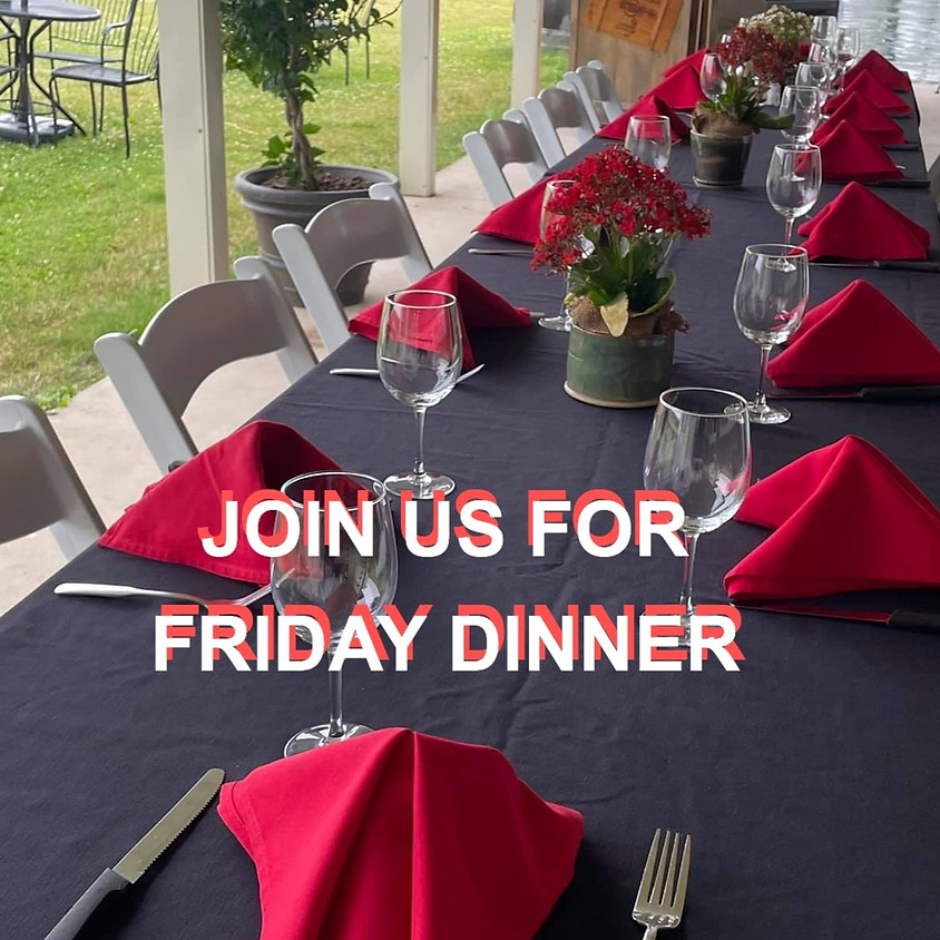 Friday Dinner by Ava's Table at the Vineyard @ Freedom Run Winery