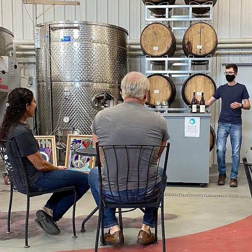 Book Your Beyond the Glass Wine Tasting & Tour Today!