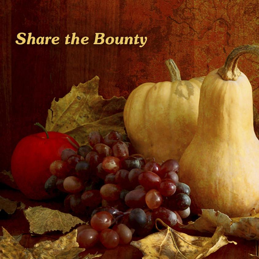 SHARE THE BOUNTY - Annual Niagara Wine Trail Event @ Freedom Run Winery