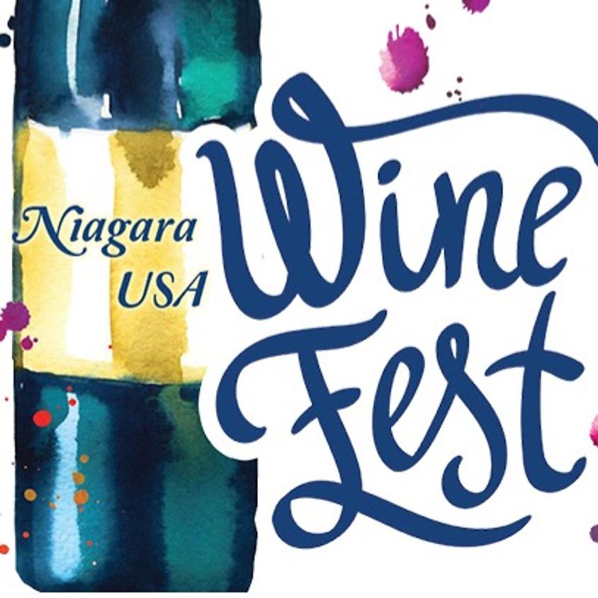 The 11th Annual Niagara USA Wine Festival in the Village of Lewiston, NY.