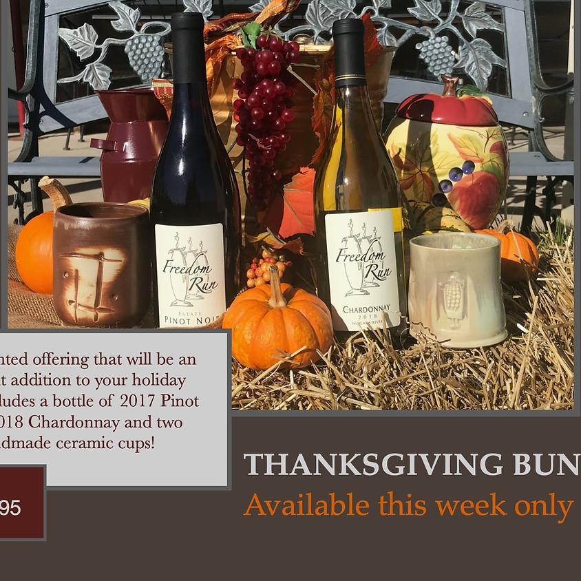 THANKSGIVING SPECIAL @ FREEDOM RUN WINERY