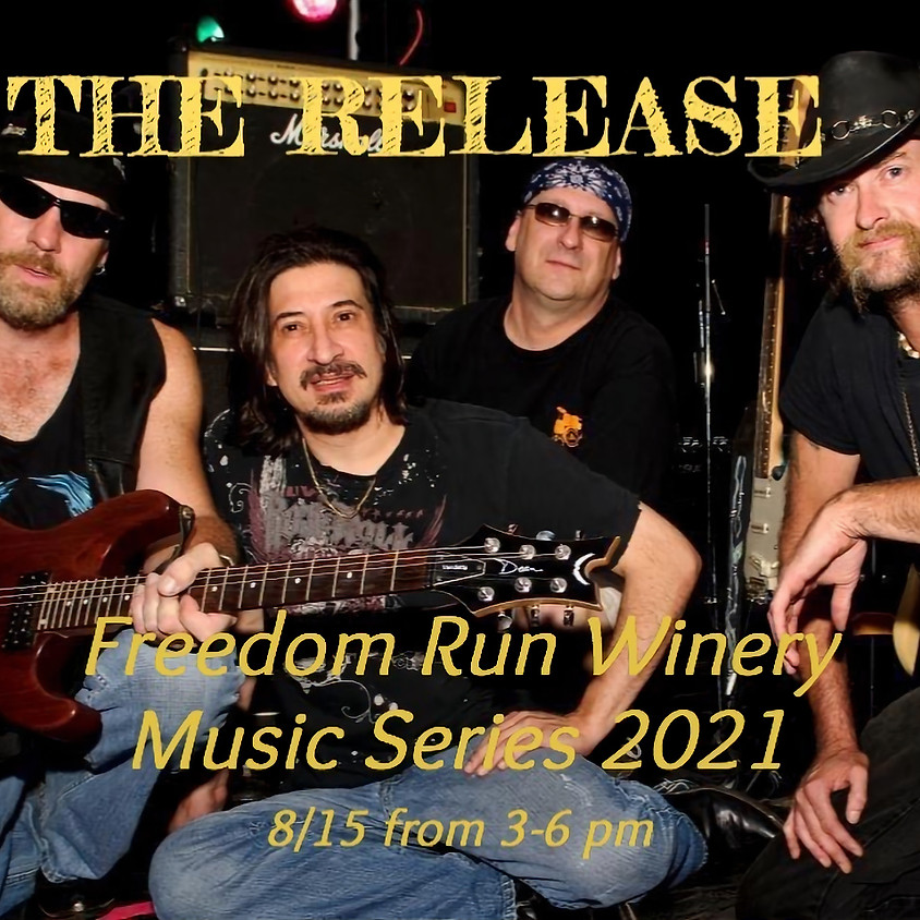 $15 Tickets Available for Freedom Run Winery Music Series: The Release