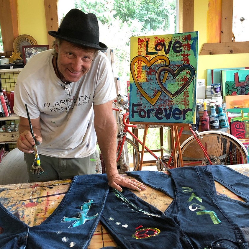 Paint  Your Jeans Party at Freedom Run Winery